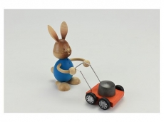 Kuhnert - Stupsi bunny with lawn mower