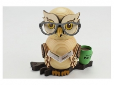 Kuhnert - Owl with glasses (with video)