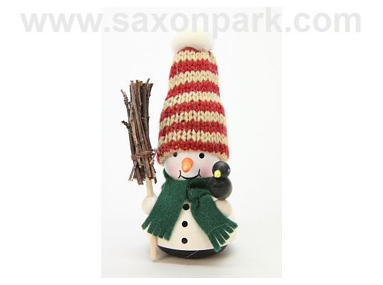 Ulbricht - Wobble Figure Snowman with Broom