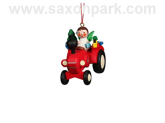 Ulbricht - Ornament Tractor With Angel