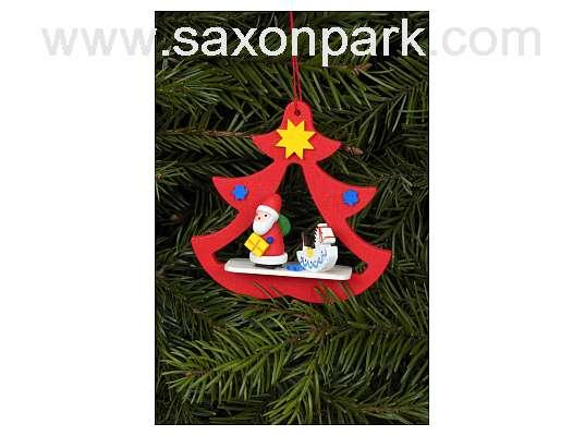 Ulbricht - Santa In Tree Ornament