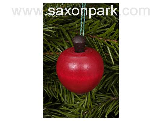 Ulbricht - Apple Ornament Small Red