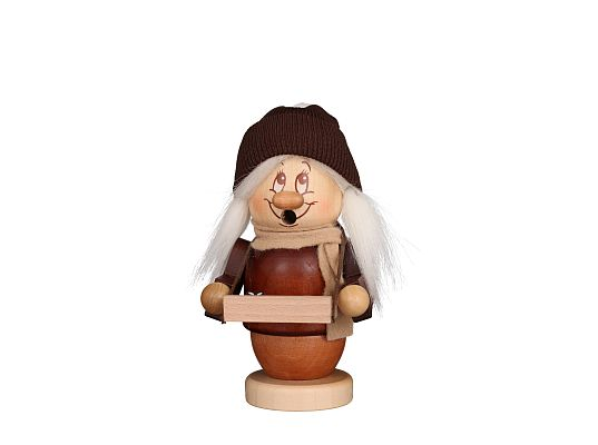 Ulbricht - Smoker Dwarf Toy Peddler Girl Small (with video)