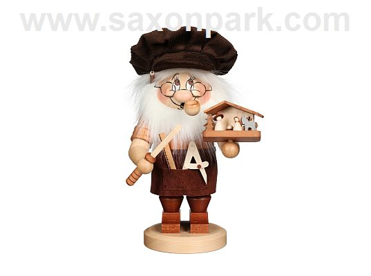 Ulbricht - Smoker Dwarf Carver Of Nativity Figurines (with video)