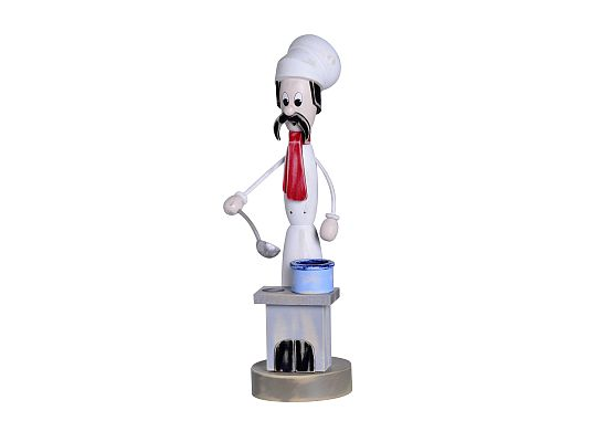 KWO - smoker Shabby Chic chef with cooker