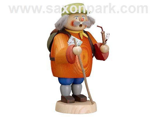 Seiffen Handcraft - Incense Figure Hiker