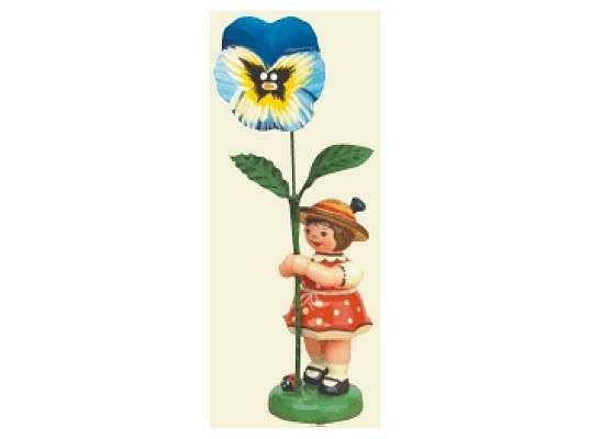 Hubrig - Flower girl with Pansy