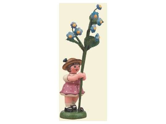 Hubrig - Flower girl with Forget-me-not