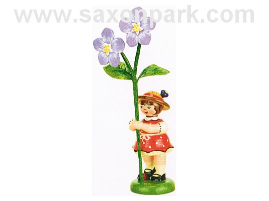 Hubrig - Flower girl with flax