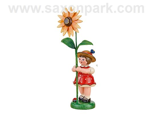 Hubrig - flower girl with sun hat