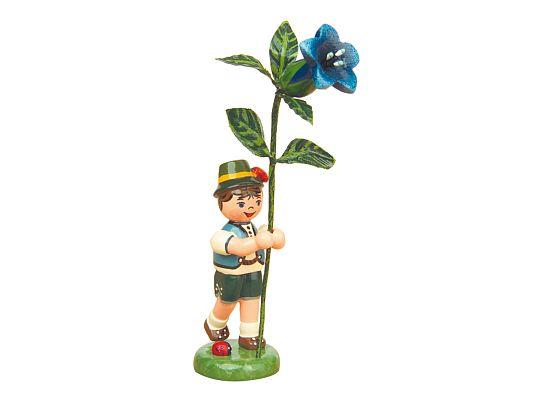 Hubrig - Flower boy with Gentian