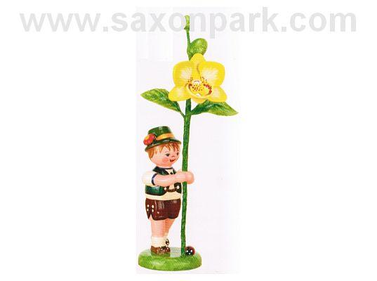 Hubrig - Boy with orchid