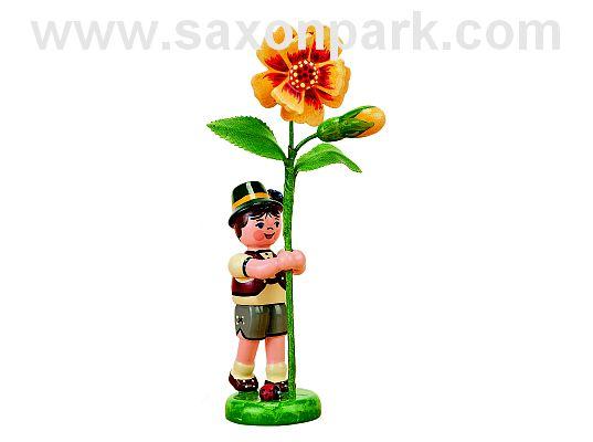 Hubrig - flower child boy with marigold