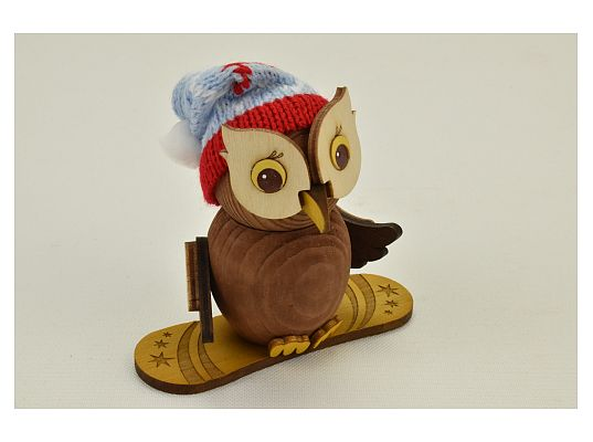 Kuhnert - Mini owl snowboard (with video)