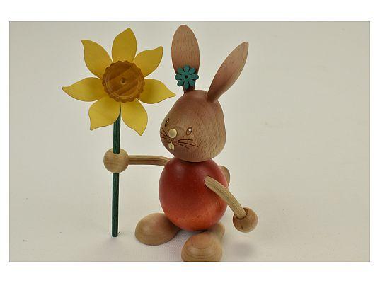 Kuhnert - Stupsi Hase mit Blume (mit Video)