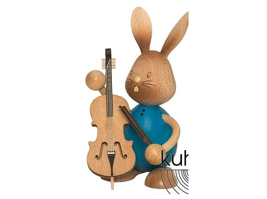 Kuhnert - Stupsi Hase mit Bass
