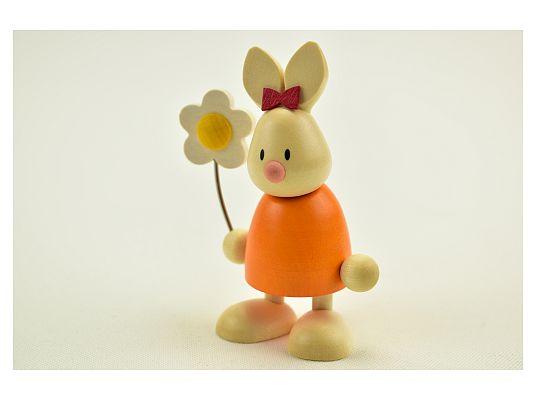 Hobler - bunny Emma with flower