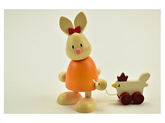 Hobler - bunny Emma with chick