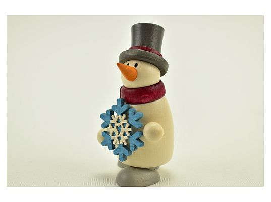 Hobler - snowman Fritz with snowflake