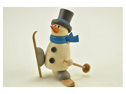 Hobler - snowman Fritz with ski