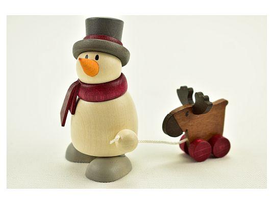 Hobler - snowman Otto with Elk