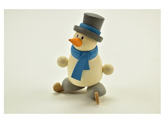 Hobler - snowman Otto with ice skater