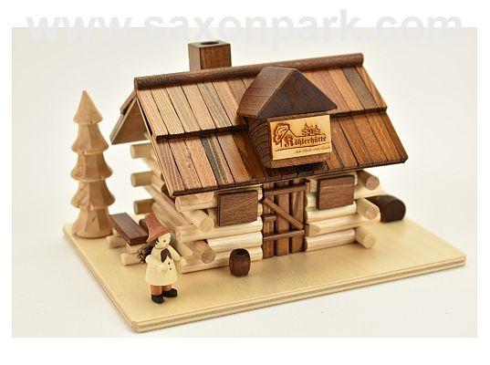 Tilo Kempf - Smoking house charcoal burners hut with figure (with video)