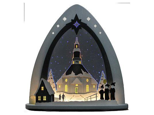 Weigla - Light spire Seiffen church