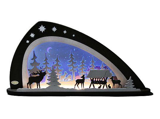 Weigla - candle arch  forest animals