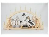 Tietze - candle arch with LED Pre-illumination castle walk