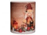 Ulbricht -Lampion Candle Christmas Elf