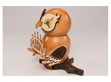 Kuhnert - Smoker Owl - with candle arch (with video)
