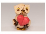 Kuhnert - mini owl with heart (with video)