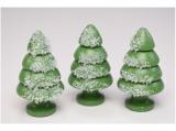 Kuhnert - Snowflake tree set of 3