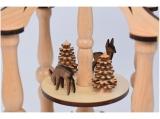 Lenk - Tealight pyramid forest figures