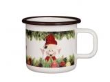 Ulbricht - Enamel mug Christmas Elf