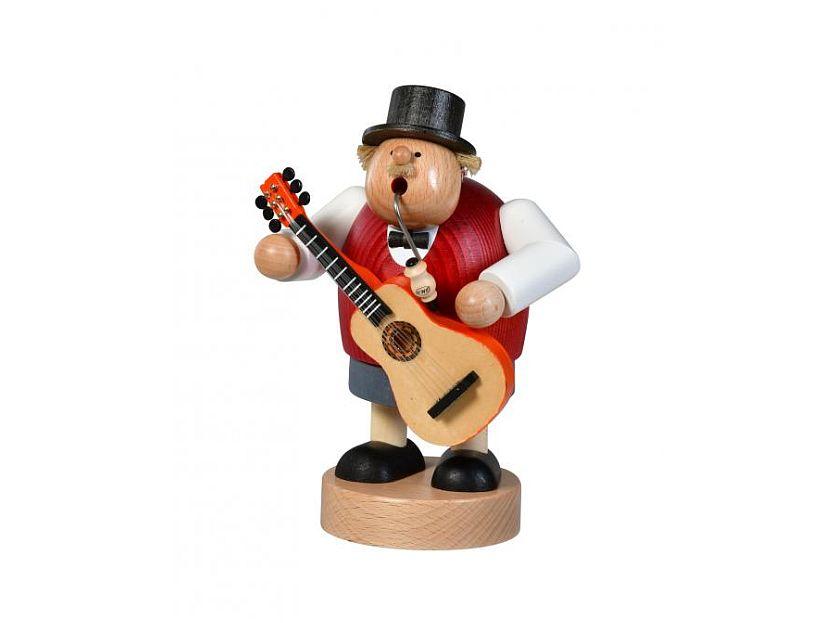 KWO - smoking man musician with guitar