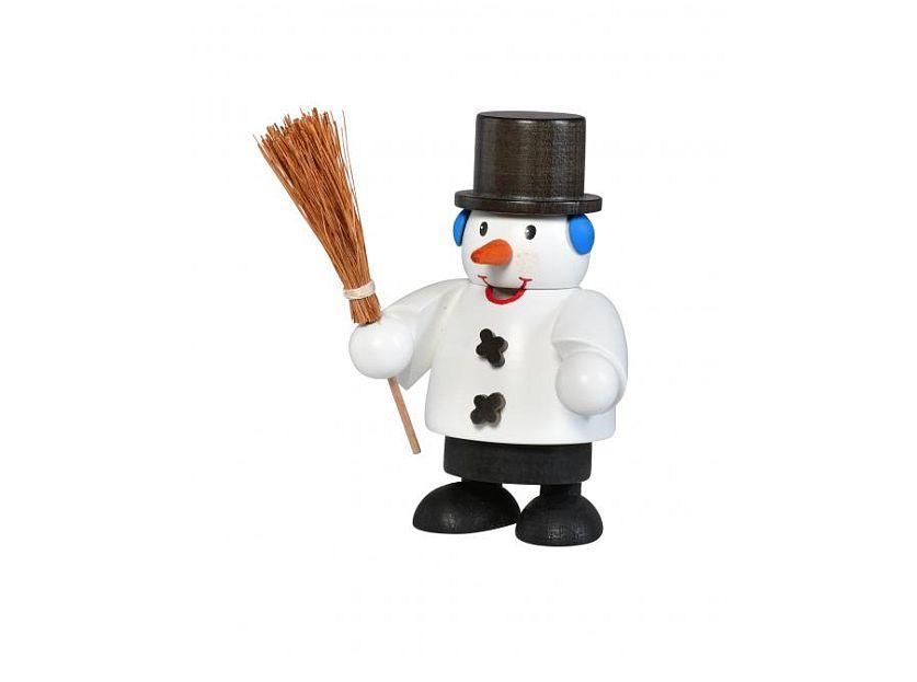 KWO - smoking man snowman