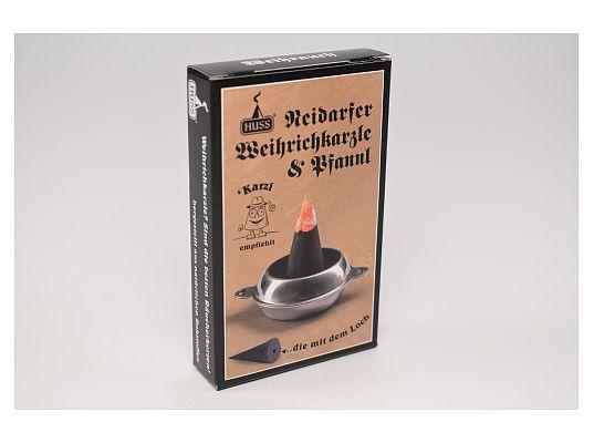 Huss - Fine Neudorfer smoked candles with Karzlpfannl