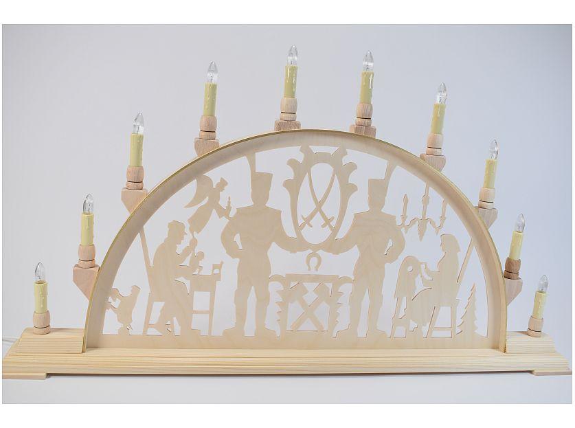 Seidel - candle arch mountain man Erzgebirge