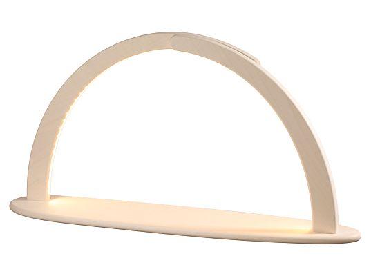 Seiffen Handcraft - Candle Arch Illum. Light Arch XXL, USB, without Decoration