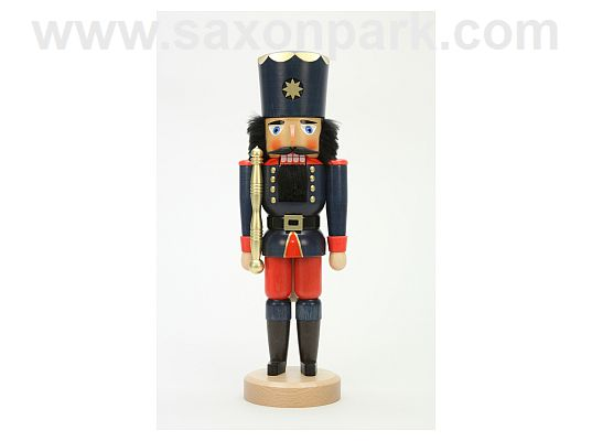 Ulbricht - Nutcracker King Blue Glazed