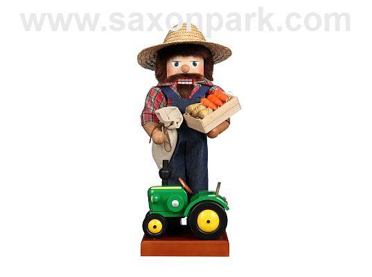 Ulbricht - Nutcracker Farmer With Tractor
