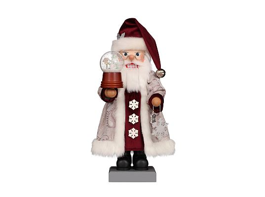 Ulbricht - Nutcracker Santa with Snow Globe Coming soon (April 2019) in limited edition and usually sold out quickly. (with video)