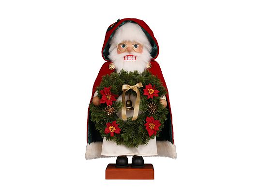 Ulbricht - Nutcracker Santa with Wreath (with video)