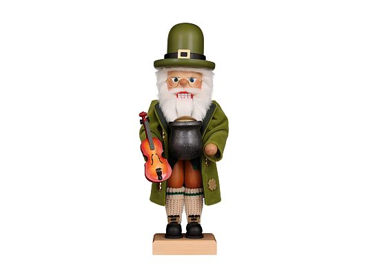 Ulbricht - Nutcracker Irish Santa Coming soon (April 2019) in limited edition and usually sold out quickly. (with video)