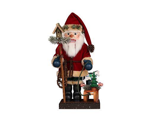 Ulbricht - Nussknacker Weihnachtsmann mit Schlitten