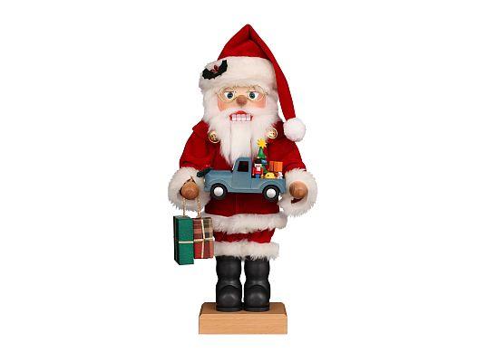 Ulbricht - Nussknacker Weihnachtsmann mit Spielzeugauto (mit Video)