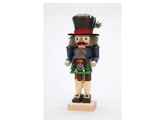 Ulbricht - Nutcracker Black Forest Fellow with Cuckoo Clock