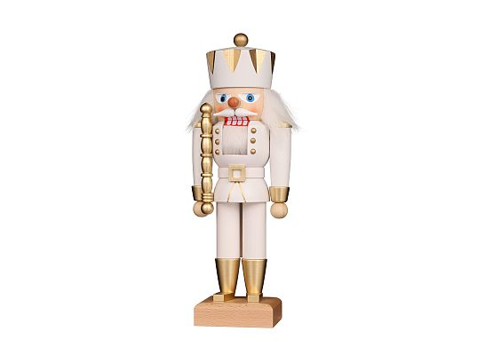 Ulbricht - Nutcracker King White/Gold Coming soon (April 2019) in limited edition and usually sold out quickly.
